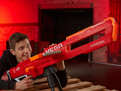 Start a Nerf war with buy two, get one free on blasters and gear at Amazon