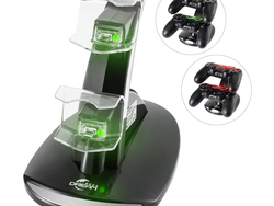 This Dual-USB Charging Station for PlayStation 4 controllers is down to $8 today