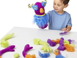 Spend your next snow day crafting this discounted Melissa & Doug Make-Your-Own Fuzzy Monster Puppet