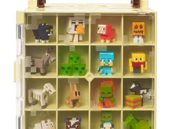 Store those tiny Minecraft Mini Figures in this $9 Mattel collector's case
