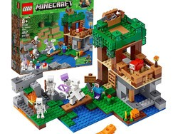 $34 will get you the Lego Minecraft Skeleton Attack Building Kit