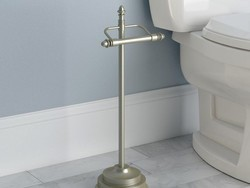 Upgrade your bathroom with the $28 Moen Stockton Pivoting Toilet Paper Holder
