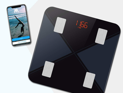 Track your weight and fitness with $8 off this app-enabled Bluetooth scale
