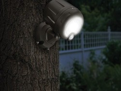 Light up the night with two Mr. Beams motion-sensor wireless spotlights for $30