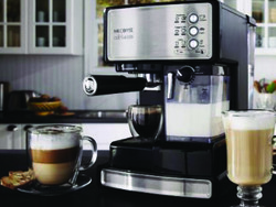 Wake yourself up with this $106 Mr. Coffee espresso and cappuccino system