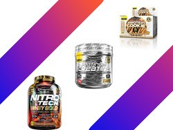 Get MuscleTech protein cookies, vitamins, and powder from $7