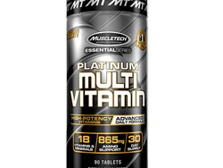 Get healthier with a 30-day supply of MuscleTech Daily Multivitamins at half off the normal price