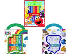 These holiday-friendly My First Library board book sets are only $6
