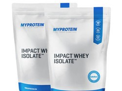 Get buff with 11 pounds of MyProtein Impact Whey Isolate Protein for $66
