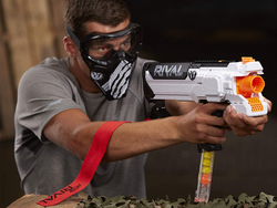Take out the competition with the motorized Nerf Rival Hera Mxvii 1200 Blaster at a new low price