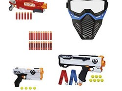 Unleash your inner child with this one-day sale on various Nerf guns and accessories