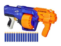Have a blast with the Nerf N-Strike Elite SurgeFire at $10 off