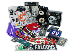 Shower your favorite sports fan with NFL gifts from these $15 goodie bags