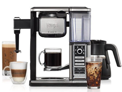 Brew one cup or a full pot with the $80 Ninja Coffee Bar Glass Carafe System