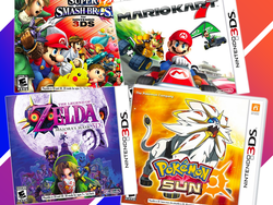 Save 50% on some of the best Nintendo 3DS games when you buy another at regular price