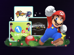 Nintendo's eShop has discounted Switch and 3DS titles for the holidays