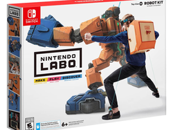 Switch gamers can save $24 on the Nintendo Labo Robot Kit today