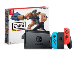 Save up to $40 on this Nintendo Switch bundle with the Labo Robot or Variety kit