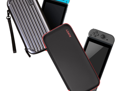 Bring along Mario and Zelda with an Aukey Nintendo Switch Travel Case on sale for $7