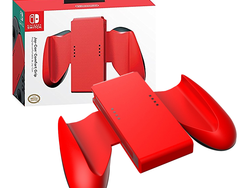 Get your hands on the red Nintendo Switch Joy-Con Comfort Grip for $8