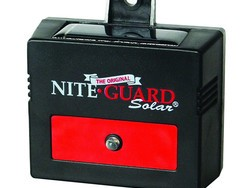 Protect your garden from predators with this Nite Guard solar-powered control light