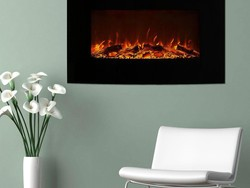 Home Depot has a bunch of Northwest Wall Mounted Electric Fireplaces on sale from $132