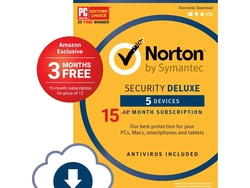 Keep your computers and other devices virus-free with 15 months of Norton Security Premium from $20