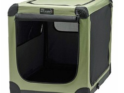 The Noz2Noz 30-inch Soft-Krater indoor and outdoor pet crate is down to $44
