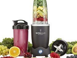 The smart NutriBullet Balance Blender will give you exact nutritional information