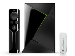 The Nvidia Shield TV Smart Home Edition with SmartThings Link is down to $160