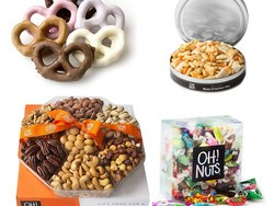 Save up to 30% on last-minute gifts and treats from Oh! Nuts via Amazon today