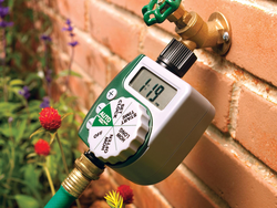Have your lawn watered on schedule with the $30 Orbit Programmable Hose Faucet Timer