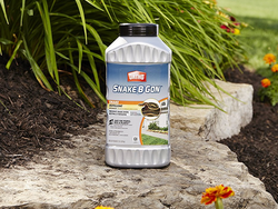 Keep snakes out of your yard with this 2lb canister of Ortho Snake B Gon for $6