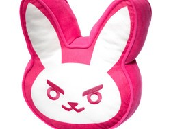 Show love for your main with this gigantic $8 Overwatch D.Va Bunny Pillow