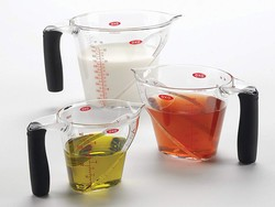 Prepare precisely using three OXO Good Grips measuring cups at a 20% discount
