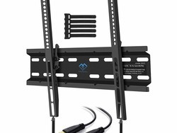 Mount your TV with the $9 low profile Perlesmith Tilting Wall Bracket