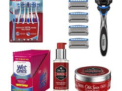 Restock the essentials with up to 30% off personal care products from Bic, Schick, Colgate, and more