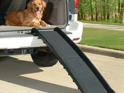 Transport your pups with help from this $50 PetSafe UltraLite Bi-Fold Ramp