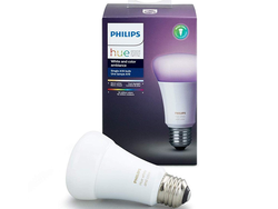 Find a new color for your room every week with this $40 Philips Hue Dimmable Smart Bulb