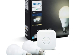 Start scheduling the lights in your home with the $56 Philips Hue Smart Bulb Starter Kit