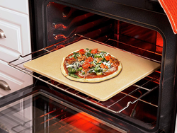 Bake pizza at home like a pro with the $30 Old Stone Oven Rectangular Pizza Stone