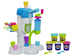 Kids can concoct ice cream creations with the $10 Play-Doh Perfect Twist toy