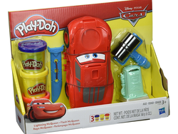 Customize Lightning McQueen from Disney's Cars with this $5 Play-Doh set