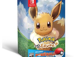 Hurry! You can pre-order the Pokemon: Let's Go, Eevee! Pokeball Plus Bundle for Nintendo Switch