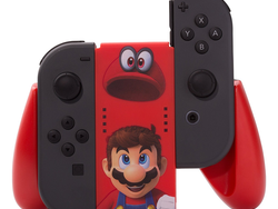 Pick up this Super Mario Odyssey-themed PowerA Joy-Con grip for less than $20