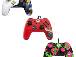 These £20 Nintendo Switch controllers are designed for Zelda, Splatoon and Super Mario fans