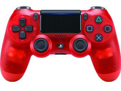 This Red Crystal DualShock 4 wireless controller is back down to just $40 right now