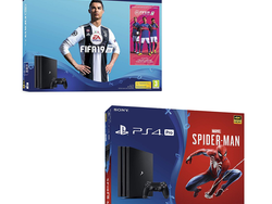 Save when you bundle FIFA 19 or Marvel's Spider-Man with the 1TB PS4 Pro