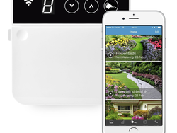 Use your smartphone and weather forecasts to schedule sprinklers with RainMachine's Mini-8