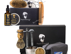 Give the gift of a clean shave with discounted Rapid Beard Shaving Kits for Men